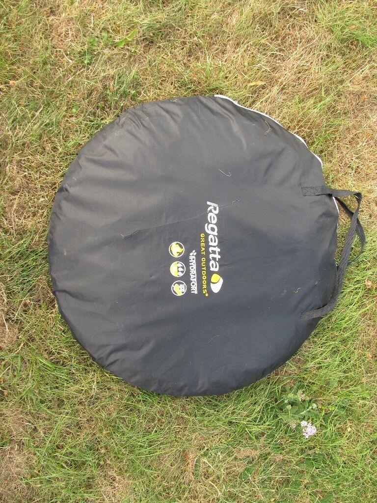 online retailer 9096e 0050a REGATTA Easy Pop Up Tent 2 Man Black Camping Trips Hiking Festival 2000mm  PEGS | in St Anns, Nottinghamshire | Gumtree