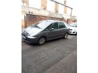 Citreon picasso 2liter diesel mot next year march ..contact 07548073669