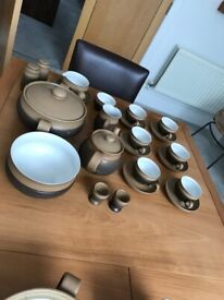 Denby coffee set with Casserole dishes