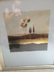 picture in gold frame