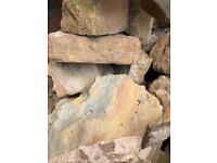 Rockery or wall stone