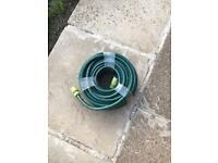 Garden hose with connectors