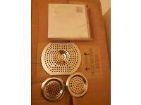 brand new 3 piece sink basin bath drainer