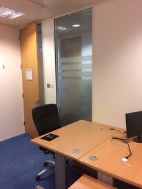 Fixed desk space in shared office £300 p/m