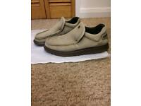 Caterpillar slip on loafers (shoes).