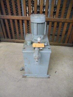 Hydro Hydraulic Power Unit Serial 2617 2 Hp Approx. 14 Gallon