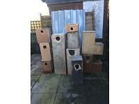 USED Parrot/Parakeet Nest Boxes FREE to collector