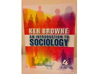 2 Sociology books for sale