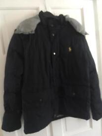 Small men's coat Ralph Lauren