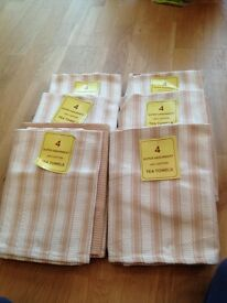Tea towel bundles x 6