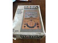 Robin multimeter used still boxed diy