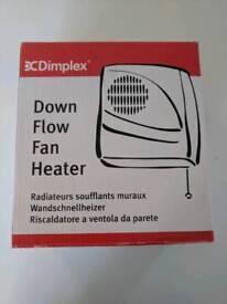 Bathroom electric heater brand new