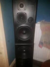 Kenwood 110 watt speakers