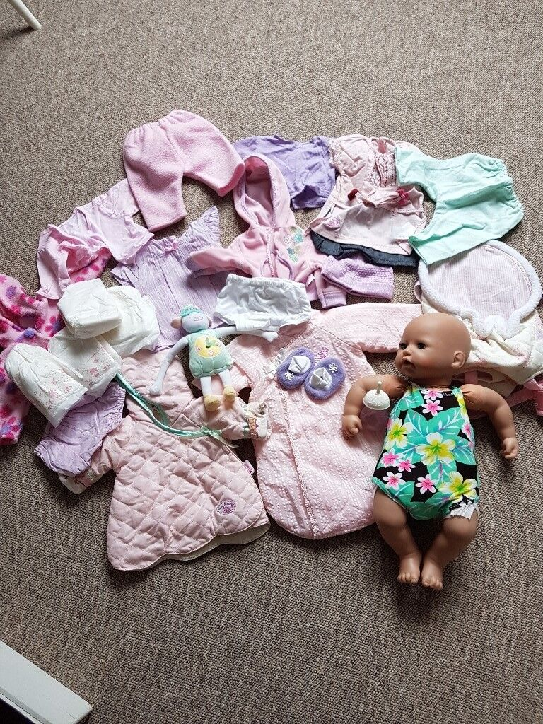 Baby Annabell and accessories