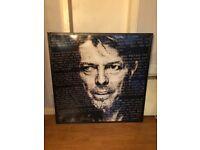 David Bowie Metal Portrait XL