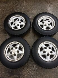 Land Rover Discovery 200tdi alloy wheels