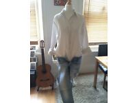 White shirt Burberry women UK 10