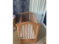 Lovely Wooden Cot