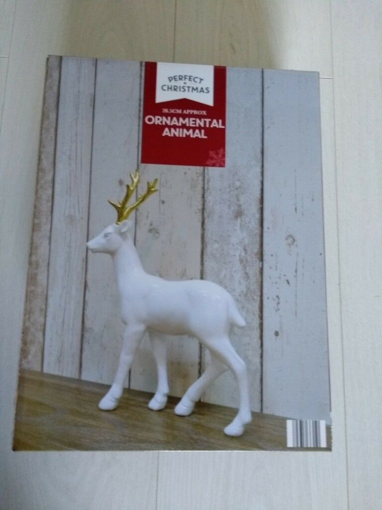 new ornamental animal christmas decoration white deer