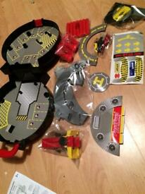 Car wheel set children's toy make your own road set