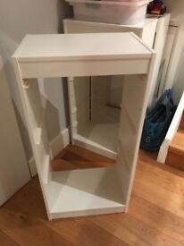 Ikea white storage frame