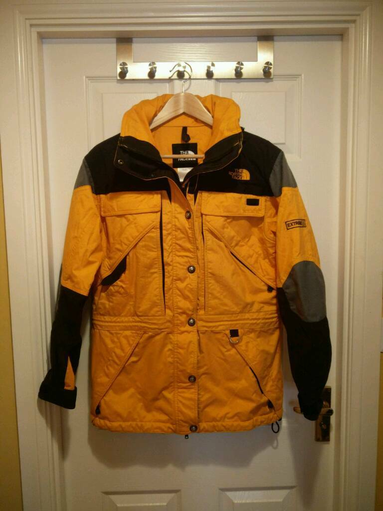 fe2d3a299 inexpensive north face yellow ski jacket 96b21 1c60f