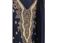 Bridesmaid dress with Pakistani work