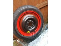 Mk1 ford focus space saver wheel