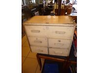 Vintage Small Chest Of Drawers