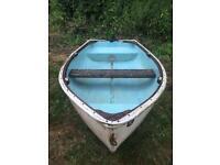 Rowing boat dinghy tender