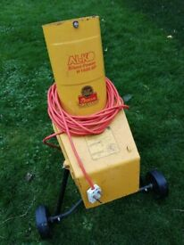 Garden shredder, AL-KO Silent Power 1600 SP - In good working order. Cheap due to missing funnel