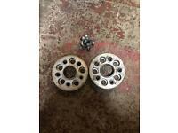 Wheel spacers 28 mm 5x100