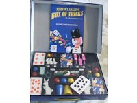 MARVIN's AMAZING BOX OF MAGIC TRICKS (New & Boxed)