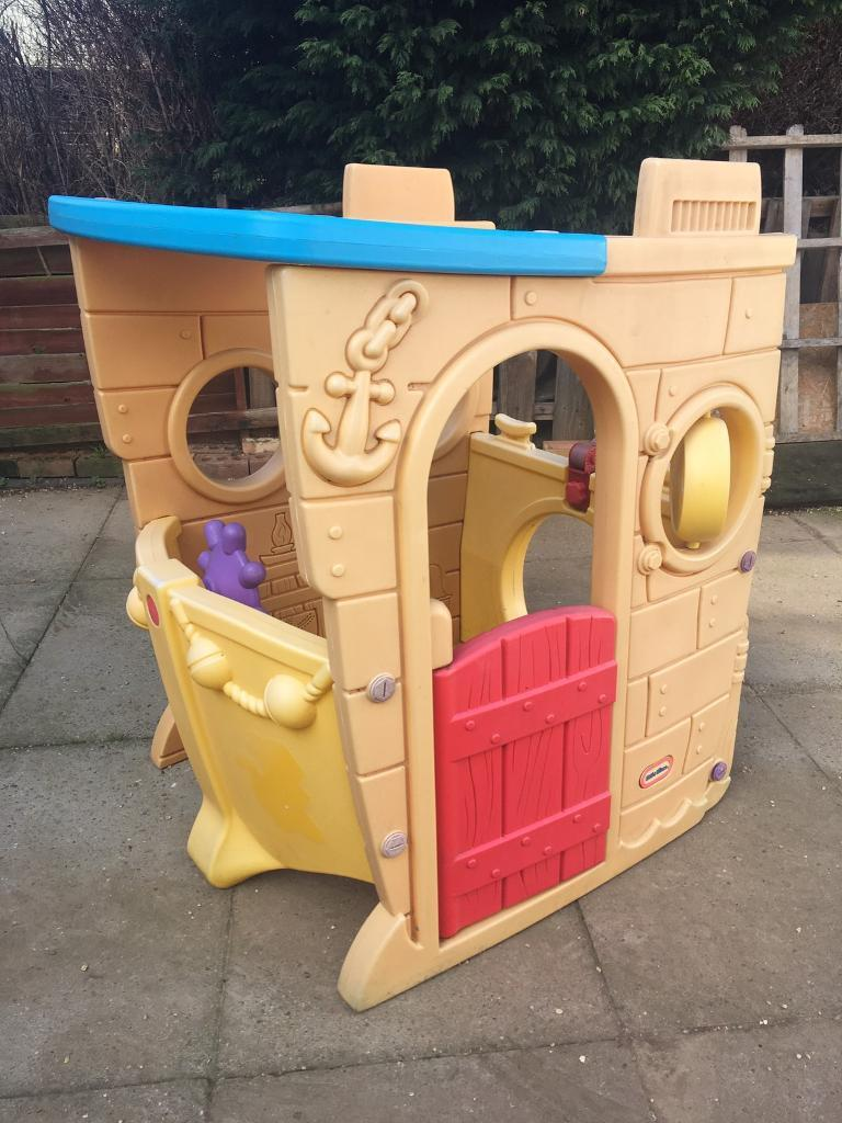 Little tikes pirate ship playhouse in leamington spa for Little tikes house