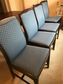 Four Stag Dining Chairs