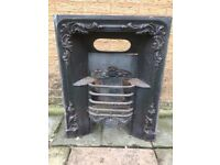 Georgian/early Victorian cast iron fireplace