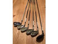Left handed ladies Wilson Pro-Staff golf clubs