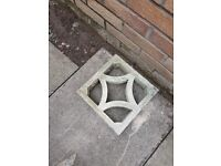 Garden concrete patterned wall block **FREE**