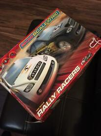 Micro scalextric Rally racers