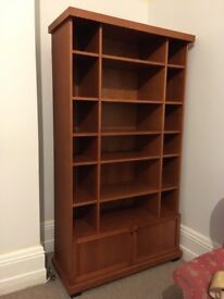 Wood bookcase bookshelf cabinet dresser large