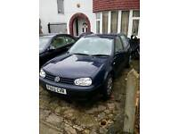 Vw Golf 1.6se Factory New with full service history and 3 keys