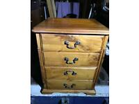 Pine filing cabinet FREE DELIVERY PLYMOUTH AREA