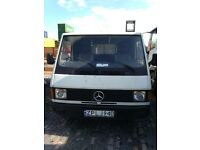 Left Hand Drive Mercedes Mb100 Van from Poland