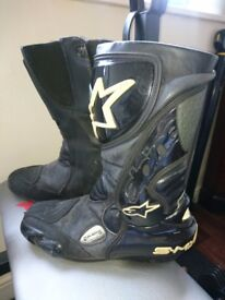 alpinestars biker boots few scuffs not effect use tho, xx