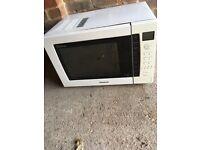Panasonic microwave oven for sale.