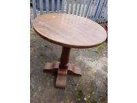 Beautiful Antique solid wood round table