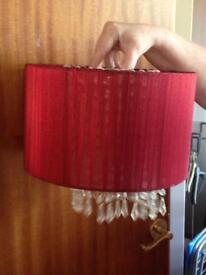 Lamp and light shades