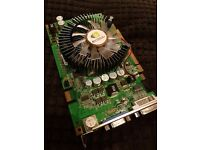 NVIDEA GEFORCE 9500GT graphics card 1024M 128Bit tv dvi DDR2 (good condition)