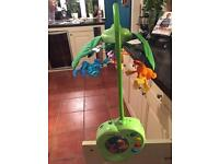 Fisher price jungle rainforest Babies mobile