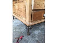 Wooden coffee/storage unit